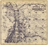 Index Map 1, Title Page, Snohomish County 1960c